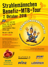 Benefiz-MTB-Tour Goch