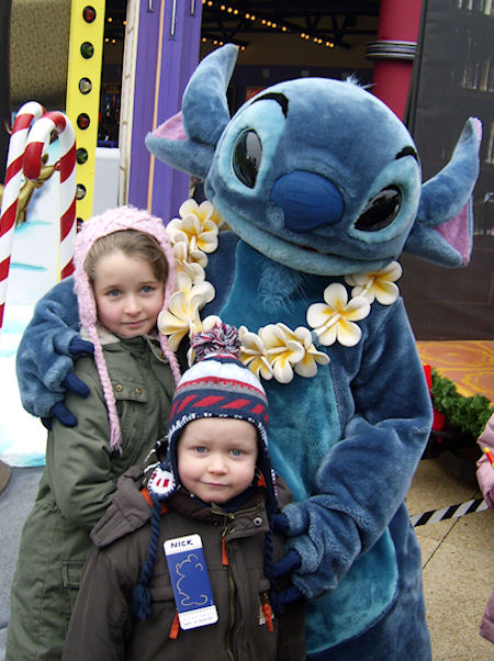 Nick mit Stitch